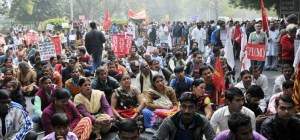 Delhi March - Left Parties