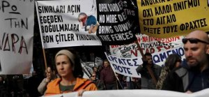 Greece Protest against Pension reforms